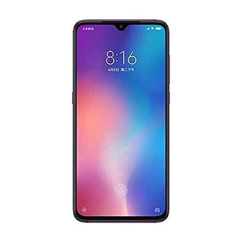 Xiaomi Mi 9 Smartphone 6 + 64 GB (16, 2 cm (6, 39 Zoll) AMOLED Display, Triple-Kamera, Dual-SIM, Android 9) Lavender Violet