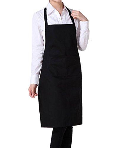 Leisial Delantales Trabajo Delantales Chef Profesionales