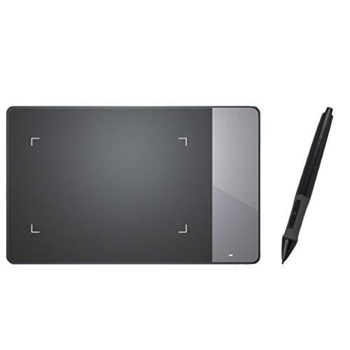 Mesa Digitalizadora  Inspiroy Pen Tablet, Huion, 420, Tablets de Design Gráfico, Black