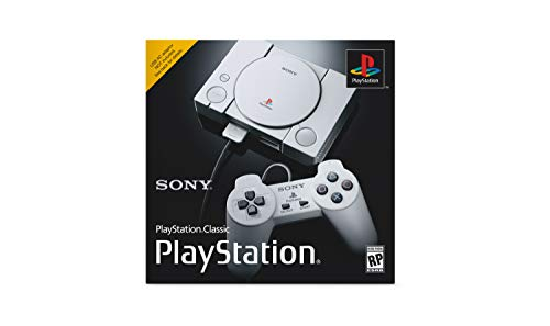 Consola Sony PlayStation Classic 20 juegos 2 Controles -Gris