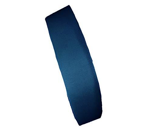 1Mカット 20MM巾グログランリボン MFFS1040 グログランテープ 裁縫 手芸用品 手芸材料 趣味 服飾 (1M, ブルー)