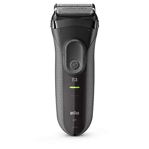 Braun Electric Razor for Men, Series 3 3000s Electric Shaver, Rechargeable Foil Shaver