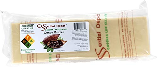 Cocoa Butter - Raw - Unrefined - 100% Pure - Natural Cocoa Scent - 2 lbs - Used in Creams, Lotion Bars and Sticks, Lip Balms, Body Butters and many other skin care products