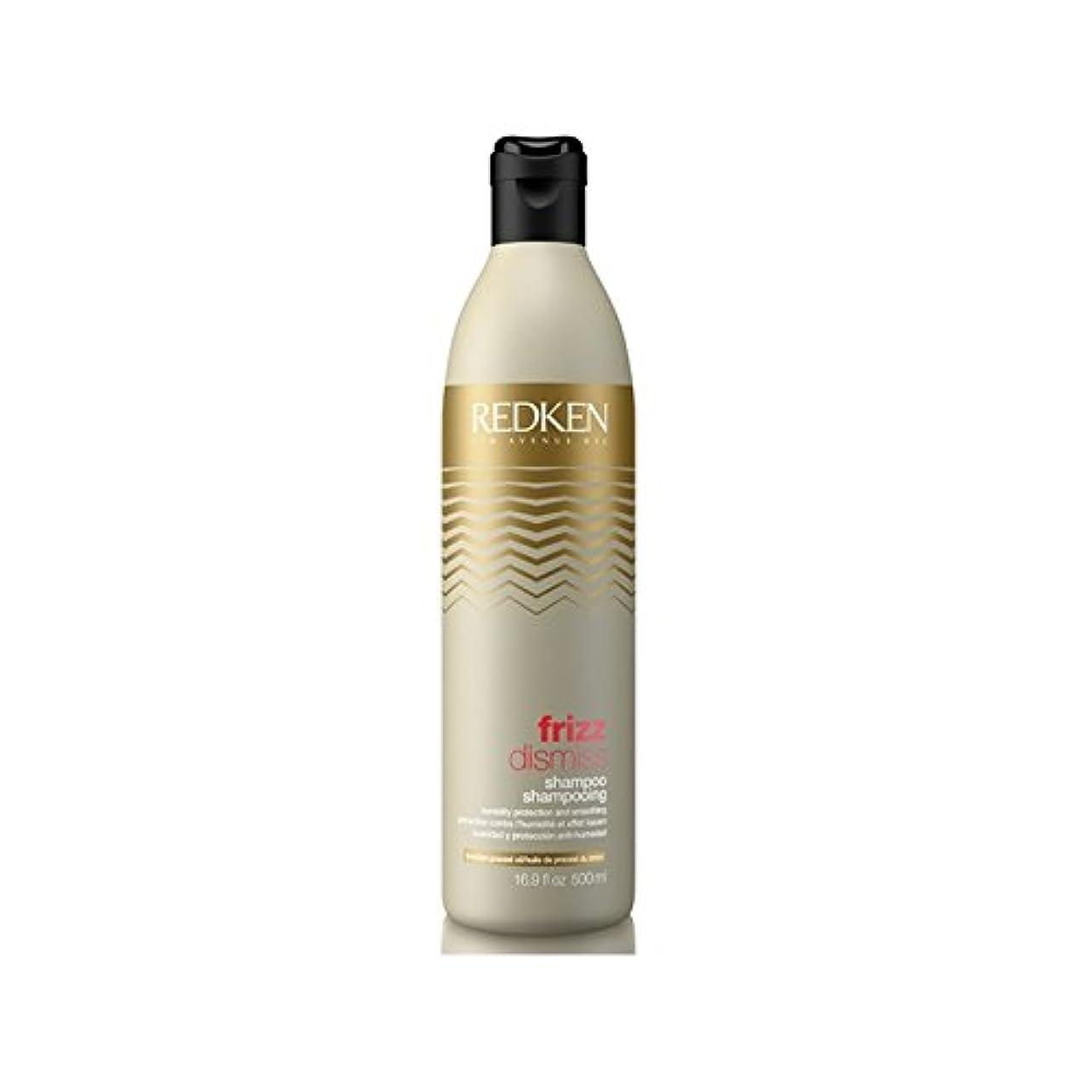 アライメント膨張する野なRedken Frizz Dismiss Shampoo 500ml - レッドケンの縮れシャンプー500ミリリットルを解任 [並行輸入品]