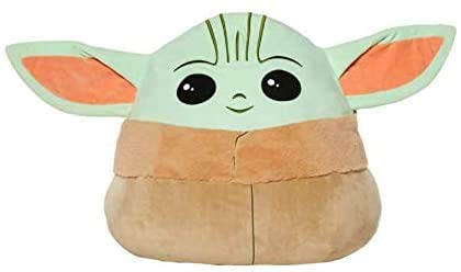 "The Mandalorian Baby Yoda The Child Squishmallows Pillow 20"" XL"