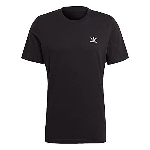 adidas Herren Essential Tee T Shirt, Schwarz, M EU