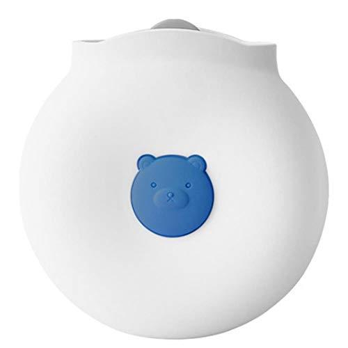 Chytaii. Botella de agua caliente Botella de agua caliente de silicona Inyección de agua Calentador Calentador de manos calefactor para microondas a prueba de explosiones 14,9 * 14,2 * 5,5 cm