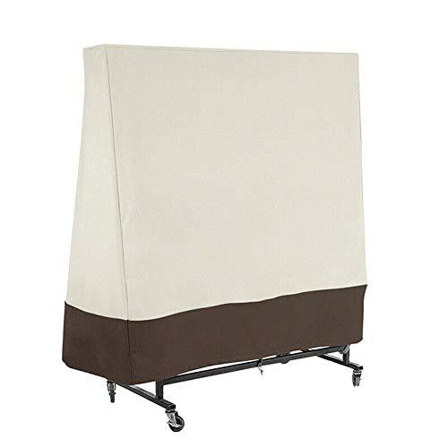 Euch Cubierta impermeable a prueba de viento cubierta protectora impermeable para tenis de mesa interior y exterior