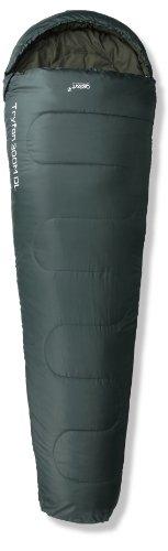Gelert Schlafsack Tryfan Classic 300DL, grün, zip links