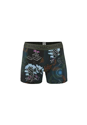 Muchachomalo Boxershorts Herren Atmungsaktiv, Baumwolle, Fitted Underwear Multicolor XXL