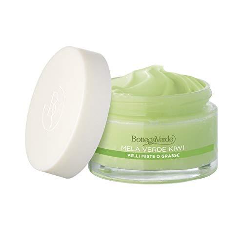 Bottega Verde - Crema gel Estratti di bellezza- Mela verde e Kiwi - idrata opacizza - pelli miste o grasse (50 ml)