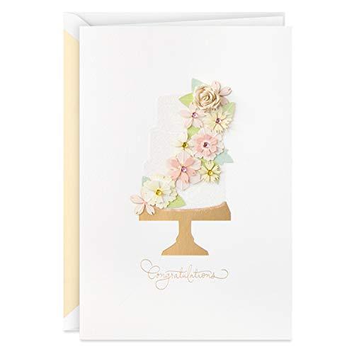 Hallmark Cartão de casamento exclusivo (apenas o começo)