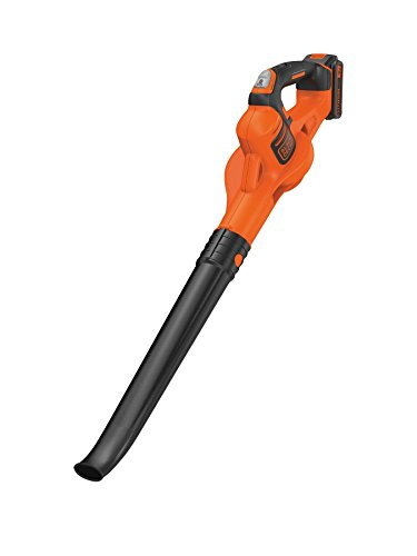 BLACK+DECKER 18V Cordless Blower + Boost Mode with 2.0Ah Lithium Ion Battery