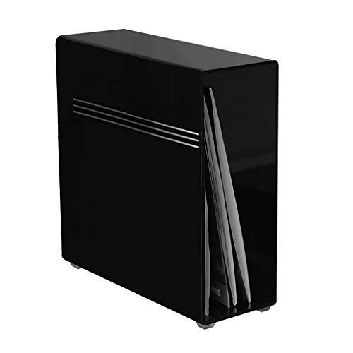 Nai-storage contenitore in acrilico nero per esposizione dei dischi in vinile (capienza 25 dischi)