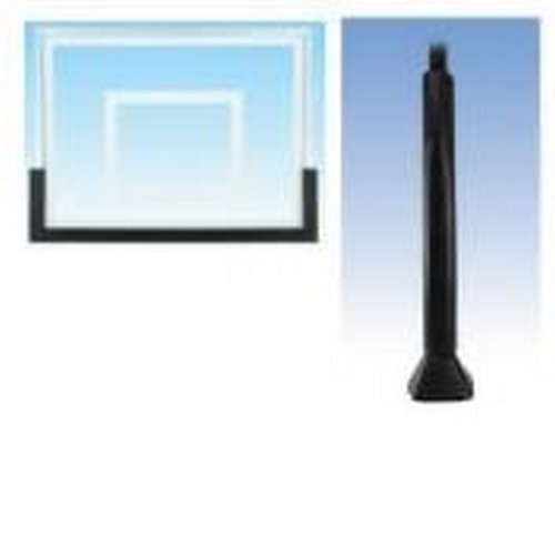 First Team Basketball Padding Package with 60in Backboard Pad and Pole and Gusset Padding for 4in or 5in Crank Adjust Poles Color: Forest Green