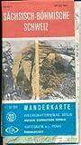 Sächsisch-Bömische Schweiz DDR-Wanderkarte