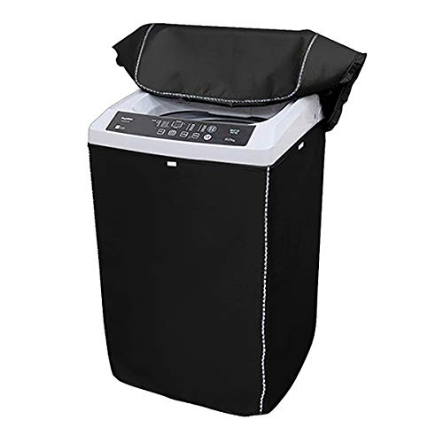 """Portable Washing Machine Cover,Top Load Washer Dryer Cover,Waterproof Full-Automatic/Wheel Washing Machine Cover (L (23""""24""""36""""))"""