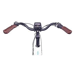 """NCM Milano Max Bicicletta elettrica da Trekking,28"""" Bicicletta da Città, 250W Motore Centrale, Batteria 36V 16Ah 576Wh (Milano Max)"""