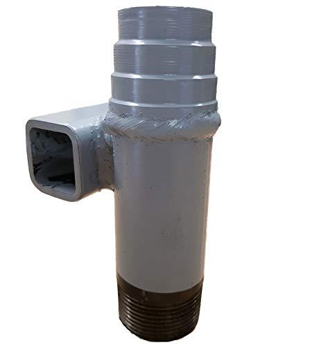 Schlagstück - für den Bau eines Brunnen Rammbrunnen Schlagbrunnen mit Rammfilter und Erdbohrer zum Anschuss einer Gartenpumpe Schwengelpumpe Handpumpe in ihrem Garten !