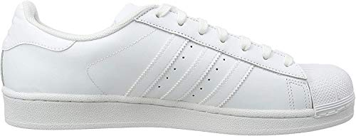 adidas adidas Originals Superstar Foundation B27136, Herren Low-Top Sneaker, Weiß (Ftwr White/Ftwr White/Ftwr White), EU 40 2/3