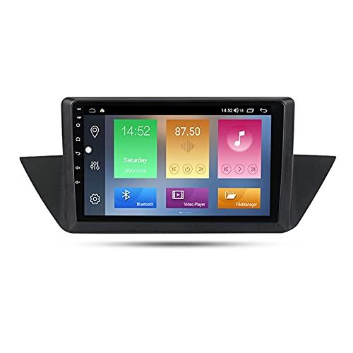 Android 10.0 coche estéreo 2 Din In-Dash Radio para X1 E84 2007-2012 navegación GPS 10' pantalla táctil MP5 reproductor multimedia receptor de video con 4G/5G WiFi Carplay
