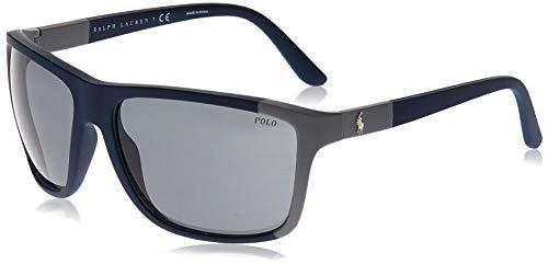 Polo Ralph Lauren Gafas de sol rectangulares Ph4155 para hombre