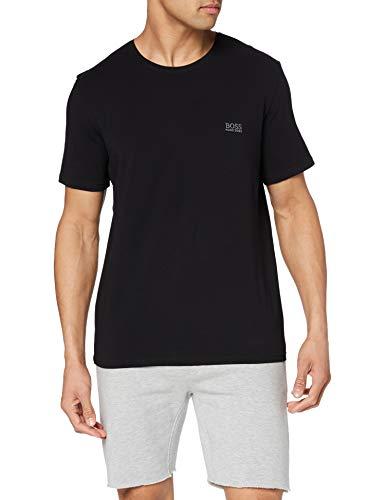 BOSS Mix & Match T-Shirt R Camiseta, Negro (Black 001), Large para Hombre