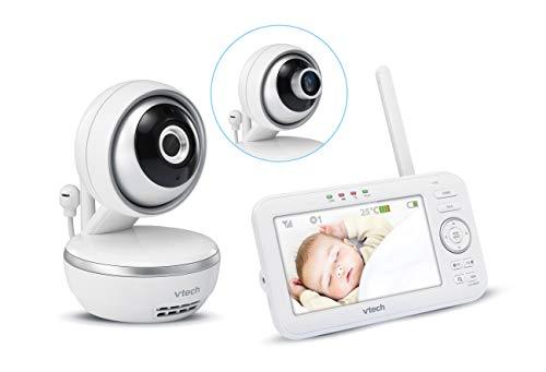 VTech BM4550 Babyphone, Videoüberwachung, sehr großes Display, französische Version