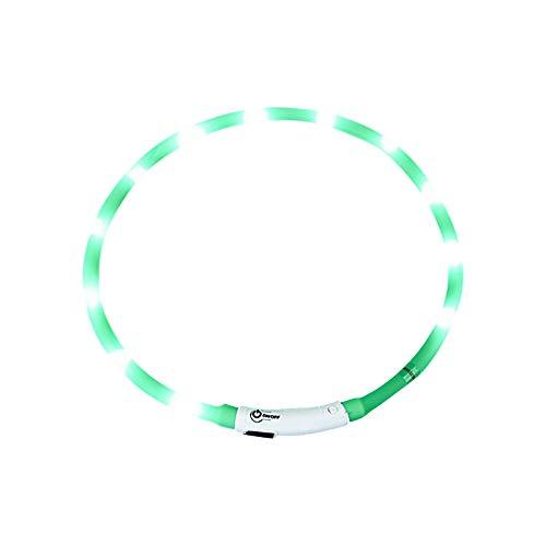 JINCAI Collar Emisor de Luz con Flash de Perro LED, Juguete ParaPerro