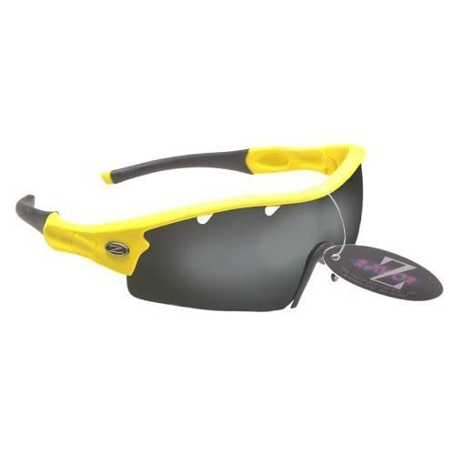 83c0d3bebe Rayzor Professional Lightweight UV400 Yellow Sports Wrap Cricket Sunglasses