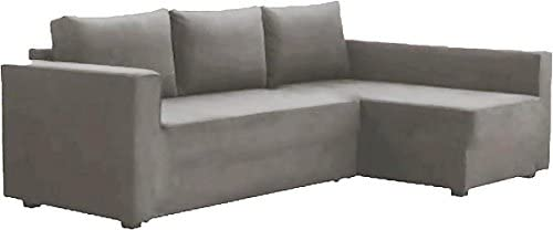 Best HomeTown Market The Cotton Manstad Cover Replacement is Custom Made for IKEA Manstad Sofa Bed with C