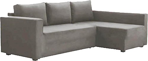 HomeTown Market Manstad Cotton Sectional Sofa Bed