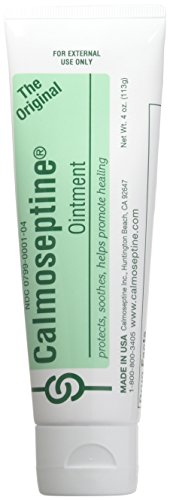 Calmoseptine Ointment Tube 4 Oz (3 Pack) (Pack of 3), 12 Ounce