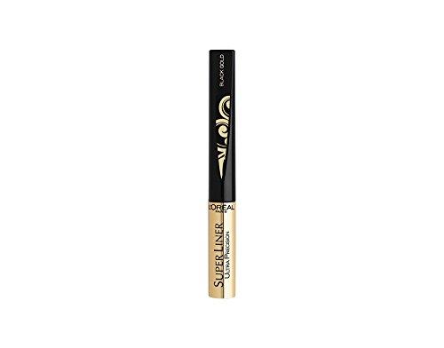 L'Oréal Paris Super Liner Ultra Precision Farbe: Gold / Schwarz Inhalt: 1,5ml Liquid Eyeliner für einen unvergesslich strahlend schönen Augenaufschlag.