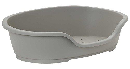 CORBEILLE LIT PLASTIQUE POUR CHIEN TAILLE 70 CM INTERIEUR (81 cm extérieur)