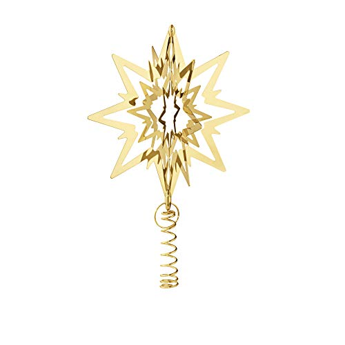 Georg Jensen Living Chapado en Oro Star decoración para ár