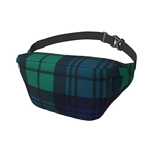 Mochila unisex estilo reloj negro Crossbody Sling Running Waist Pack Daypack