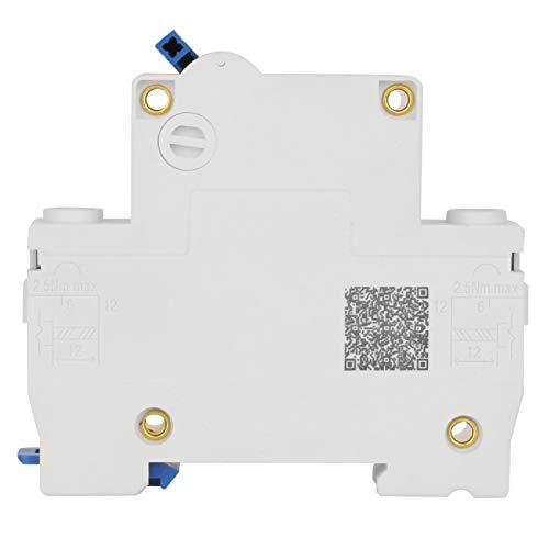 Disyuntor en miniatura 1P 230V Interruptor de aire de alta sensibilidad Protección contra fugas Manual eléctrico para sistema de generación de energía pequeña(20A)