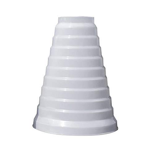 Riduttore universale per sistemi di ventilazione Ø 80-200 mm. Raccordo di riduzione tubo di riduzione Ø 80100110120130140150160170180190200 mm. Condotto di ventilazione di ventilazione a tubo