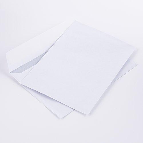 Briefumschläge DIN C6 114 x 162 mm weiß 70g/m² ohne Fenster haftklebend(kein Austrocknen - bis 3 Jahre!) (203) (1000)