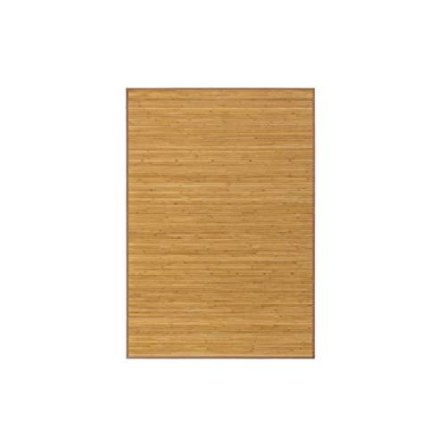 Alfombra de Salón o Comedor, Marrón de Bambú Natural 140 X 200...