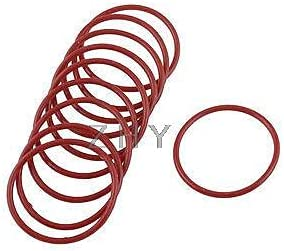 Vivona Gaskets 35mm Popular products x 31mm 2mm Red S O Shaped Oil Large-scale sale Rings Rubber