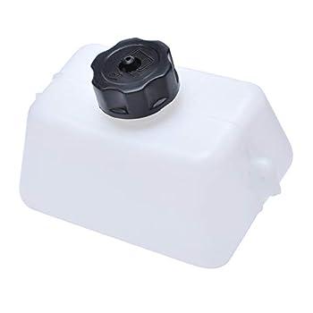Mini Bike Gas Tank 2 Stroke for Compatible with ATV 43cc 47 49cc Mini Moto Dirt Bike Quad Dirt Pocket Atv Fit 1/4 Fuel Line Mini Oil Petrol Tank