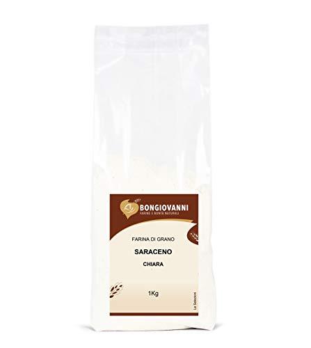 BONGIOVANNI FARINE E BONTA' NATURALI 1Kg de farine de sarrasin légère sans gluten 1.00 kg