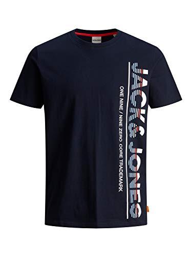 Jack & Jones JCOSTRUCTURE tee SS Crew Neck Camiseta, Sky