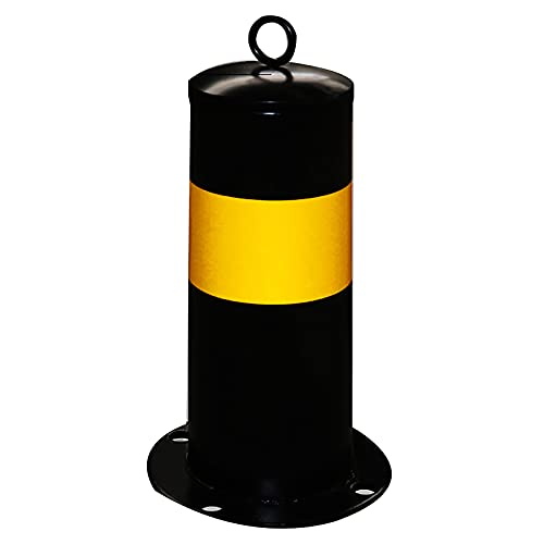 Bolardos Automaticos, Tubería De Acero De Entrada, Conos Tráficos Galvanizados, Conos Fuertes Y Duraderos, para Uso Comercial O Privado(Size:300×114×1.2 mm,Color:A)
