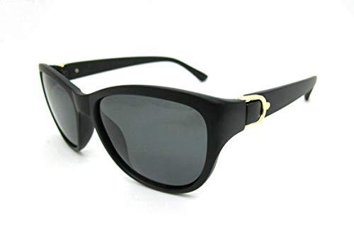 Gafas de Sol Gafas De Sol para Mujer, Polarizadas, Ojo De Gato, Elegantes, Gafas De Sol para Mujer, Gafas De Conducción Matterblackframe