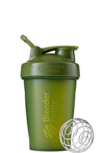 BlenderBottle Classic Loop Shaker per frullati di Proteine | Bottiglia per Acqua | Borraccia 820ml - Moss Verde