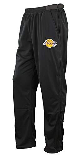 Zipway NBA Men's Los Angeles Lakers Pixel Tricot Tear Away Pants, Black, Large