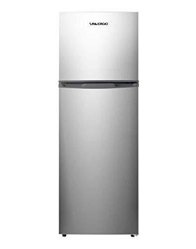Frigorifero Doppia Porta No Frost, 249 litri, Classe E (ex A+), Inox